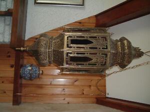 Lustre marocain antique authentique