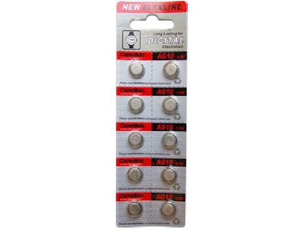 250-Pack AG10 / 389 / 390 / LR54 Button Batteries