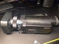 Sony FDR-AX100E 4K Camcorder
