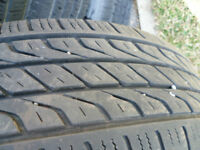 14-inch summer tires Toyo brand, extensa, P205/75/R14. Radial st