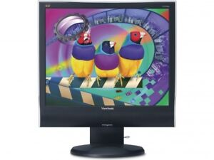 Viewsonic VG930M 19in LCD Media Monitor w Stereo Speakers - NEW