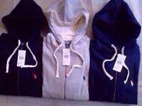 Ralph Lauren Classic Fleece Hoodie full zipper for Men