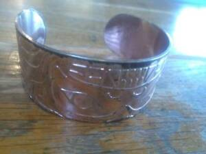 Native Design Silver Plated Bracelet Corey Bulpitt