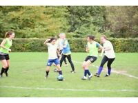 Ladies Social Football Training For All Abilities. Welcoming New Players (Women's Soccer)