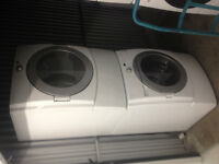 3yr old Stackable Washer(electric)Dryer(Gas) combo KitchenAid 27