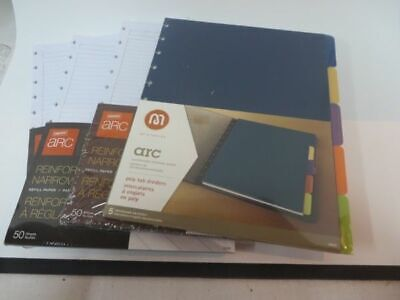 Staples Arc Planner Ruled Pages Poly Tab Dividers New Unopenned