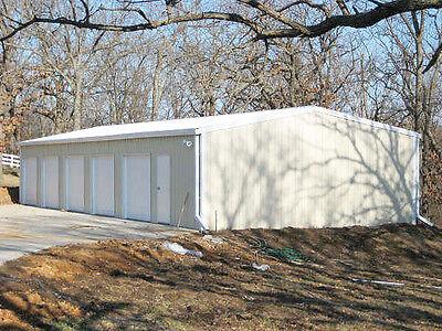 Steel Metal 5-car Garage Shop Building Kit
