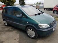 Vauxhall zafira 7 seater done 90k miles