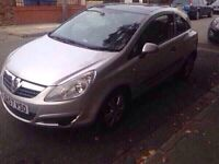 2008 57reg Vauxhall Corsa Breeze 1.3cdti Glass Roof Clean Car Ideal First Car Or Runaround