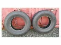 BF Goodrich 235 75 15 M65 T/A M&S Tyres only 200 miles on them 7.2-7.5mm tread Cost £125 each