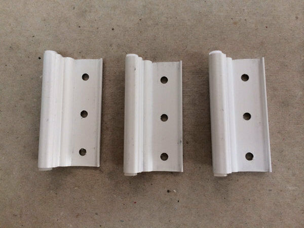 Mobile Home Parts 3 NEW White Storm Door Hinges
