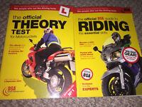 Motorcyclists dsa theory books x2