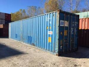 Used Steel Storage Containers / Shipping Containers