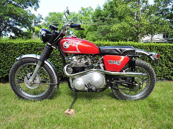 Motorrad-Klassiker von Norton