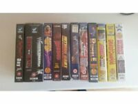 WWF (some WWE) Videos (yes VHS videos)