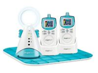 Angelcare AC401 movement & sound baby deluxe monitor with 2 parent units