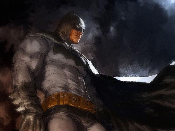 Eine Fledermaus wird zum Held: Batman von DC Comics