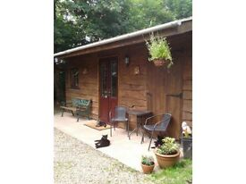 "Self Catering Holiday Lodge/Cottage (""Off the Beaten Track"") Rural Location"