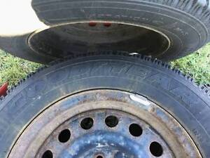 Mounted Goodyear Nordic 205/65R15 - $225 West Island Greater Montréal image 2