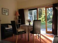Delightful Garden Apartment near Culloden Battlefield on outskirts of Inverness