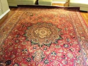 Hand made semi antique persian Rug