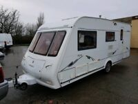 STUNNING 4/5 BERTH COMPASS OMEGA WITH EXTRAS + AWNING