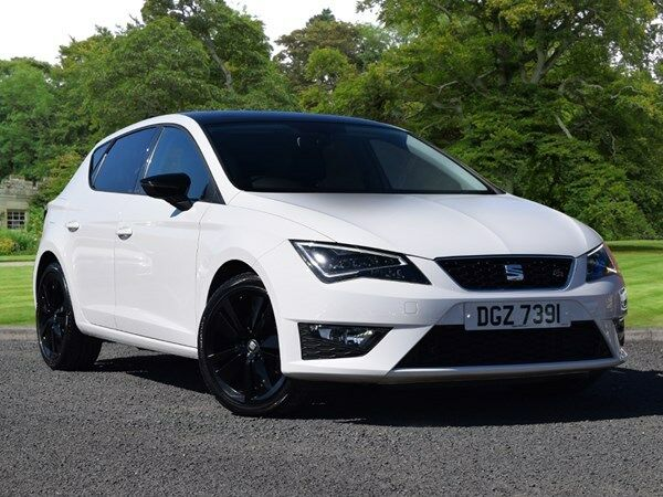 seat leon 2 0 tdi fr 5dr technology pack white 2016 in county antrim gumtree. Black Bedroom Furniture Sets. Home Design Ideas