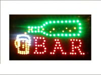 Led OPEN Sign; BAR Signs; ManCave Signs ..etc! Shipping FREE▋$44