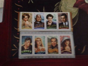 Canadians in Hollywood stamps