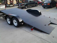 HYDRAULIC and TILT CAR / EQUIPMENT TRAILER FOR RENT