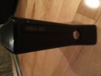 XBOX 360 S for sale with Kinect and 9 games