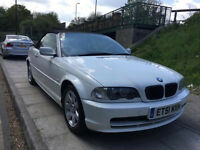 Bmw 3 series 320i convertible original white automatic