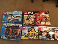 LOT LEGO:WORLD CITY :4511, 10027, STAR WARS :7662, 7674, 4996
