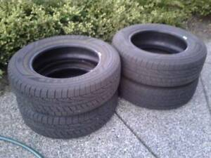 GOODYEAR SNOW TIRES 22/65R17. New