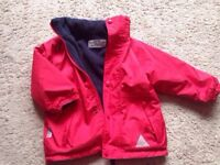 Reversible coat/fleece ALL WEATHER age 3-4