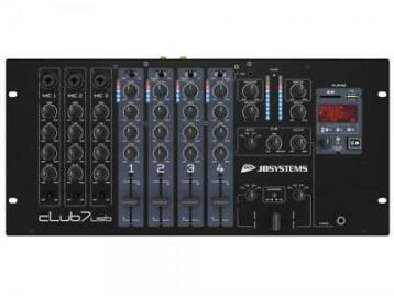 JB Systems CLUB7-USB 7 kanaals DJ mengpaneel met USB