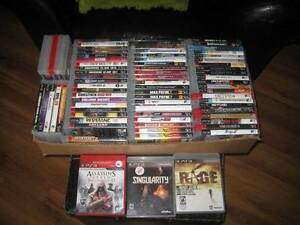 over 100 ps3 games all but a few $5 each more added