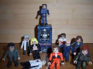 BATTLESTAR GALACTICA Minimates loose lot