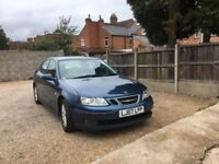 SAAB 9-3 LINEAR SE 4DR, FULL SERVICE HISTORY, TWO KEYS, FULLY SERVICED, DRIVES VERY WELL