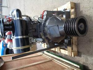 DIESEL ENGINE 90 HP TURBO DIESEL WITH CLUTCH/PULLEYS NEW RICARDO Prince George British Columbia image 4