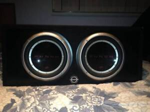 Rockford Subs and Sony Amp
