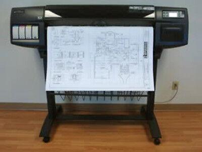 Hp Designjet 1055cm 36 Inkjet Printer Plotter With 3 Year Warranty