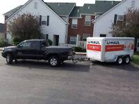 Moving/Transport/Livraison Remorque fermée/closed trailer 12 ft.