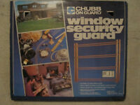 Chubb window security bars
