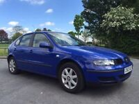 2003 1.4 litre SEAT LEON with NEW 12 MONTHS MOT CAMBELT CHANGE LOVELY DRIVE
