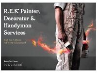 Painter Decorator & Handyman services
