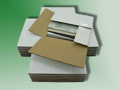 50 Variable Depth 45 Rpm Record Mailer Shipping Boxes - Ships Free