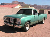 1977 DODGE D100 ** VITRE ARRIERE ** BACK GLASS **