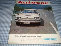 Autocar Magazine, 11Sep1964, BMW 700LS Road Test, Garages (The Motor House), Italian Grand Prix, etc