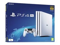 Sony Playstation 4 Pro Glacier White *BRAND NEW + UNOPENED*